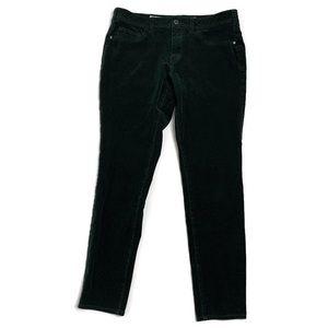 Anthro Pilcro The Letterpress Green Corduroy Pants